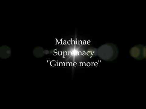 Machinae Supremacy - Gimme more with lyrics on screen~