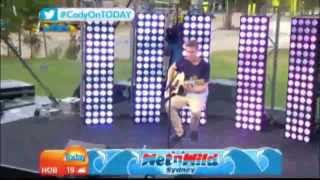 cody simpson all day live at weekend today wet n wild