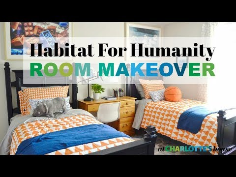 Shared Boys Room for Habitat for Humanity