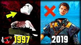 History of Dismemberment in Star Wars Games 1997 - 2019
