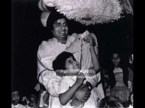 Amitabh Bachchan From His Childhood - The Living Legend