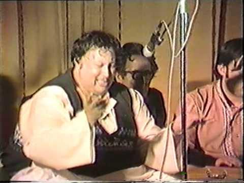 Nusrat Fateh Ali Khan - saki saki mere saki - uk birmingham 1979