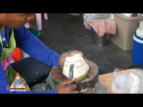 Fresh Coconut Perfectly Peeled – Thailand