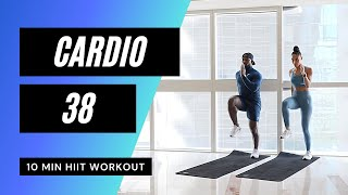 Very Sweaty Cardio Workout ? Anaerobic Exercise // HIIT Workouts: 61