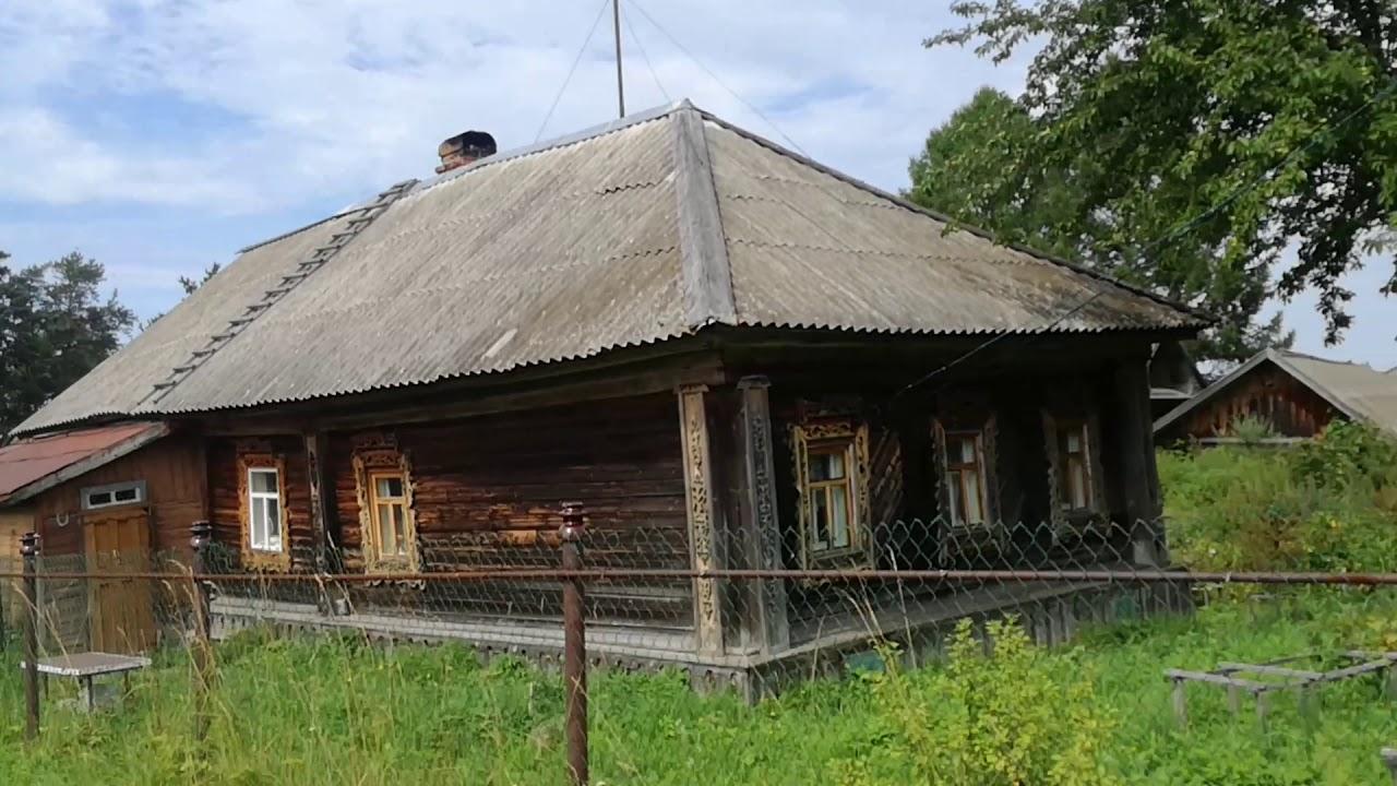 Заброшенная деревня Ярославской Вологодской области