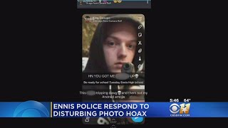 Ennis Police Say Threat To High School A Hoax