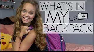 What's In My Back to School Backpack | Chelsea Crockett