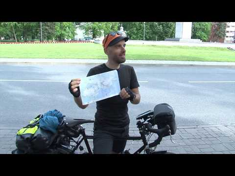 Latvijā atgriezies velo-ceļotājs Aigars Lauzis