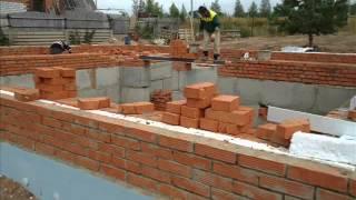 Строительство фундамента дома цокольный этаж Фильм 1(Вторую часть можно посмотреть по ссылке- http://www.youtube.com/watch?v=7p930IGMv40., 2012-05-07T17:40:20.000Z)