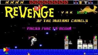 Revenge of the Mutant Camels - 1984 PC Game, gameplay