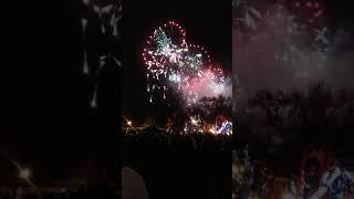 Новый 2019 год.  Салют на Думской