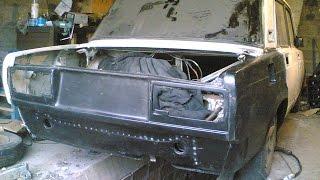 КУЗОВНОЙ ЖӨНДЕУ және сырлау қара күңгірт ВАЗ 2105 / LADA BODY REPAIR