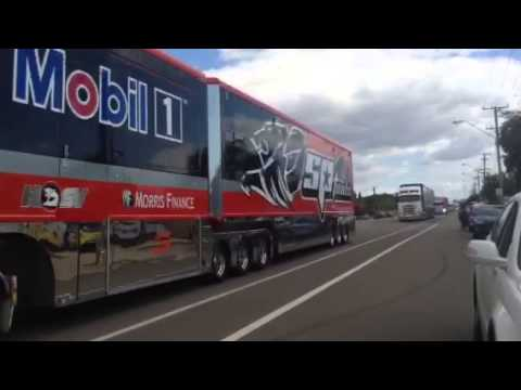 2015 Townsville 400 v8 Supercars truck parade