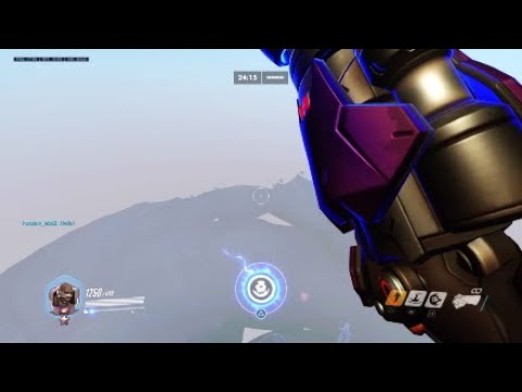 Overwatch PS4 - blizzard world glitch - The ultimate seismic slam fail