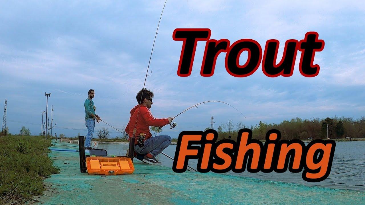 Area Fishing თევზაობა ტბის კალმახზე
