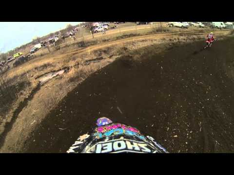 Motocross Rider Can't Stay on Course, Survives Scary Accident