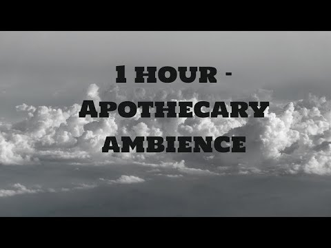 1 Hour - Apothecary Ambience - Potion Shop