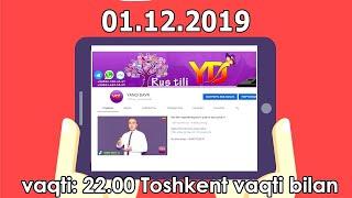 Rus tili: 01.12.2019 Jonli muloqot