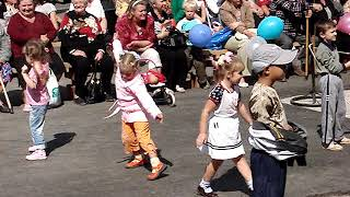 Танцуют дети Лучегорска 14 09 2008 г Праздник День Пожарского района