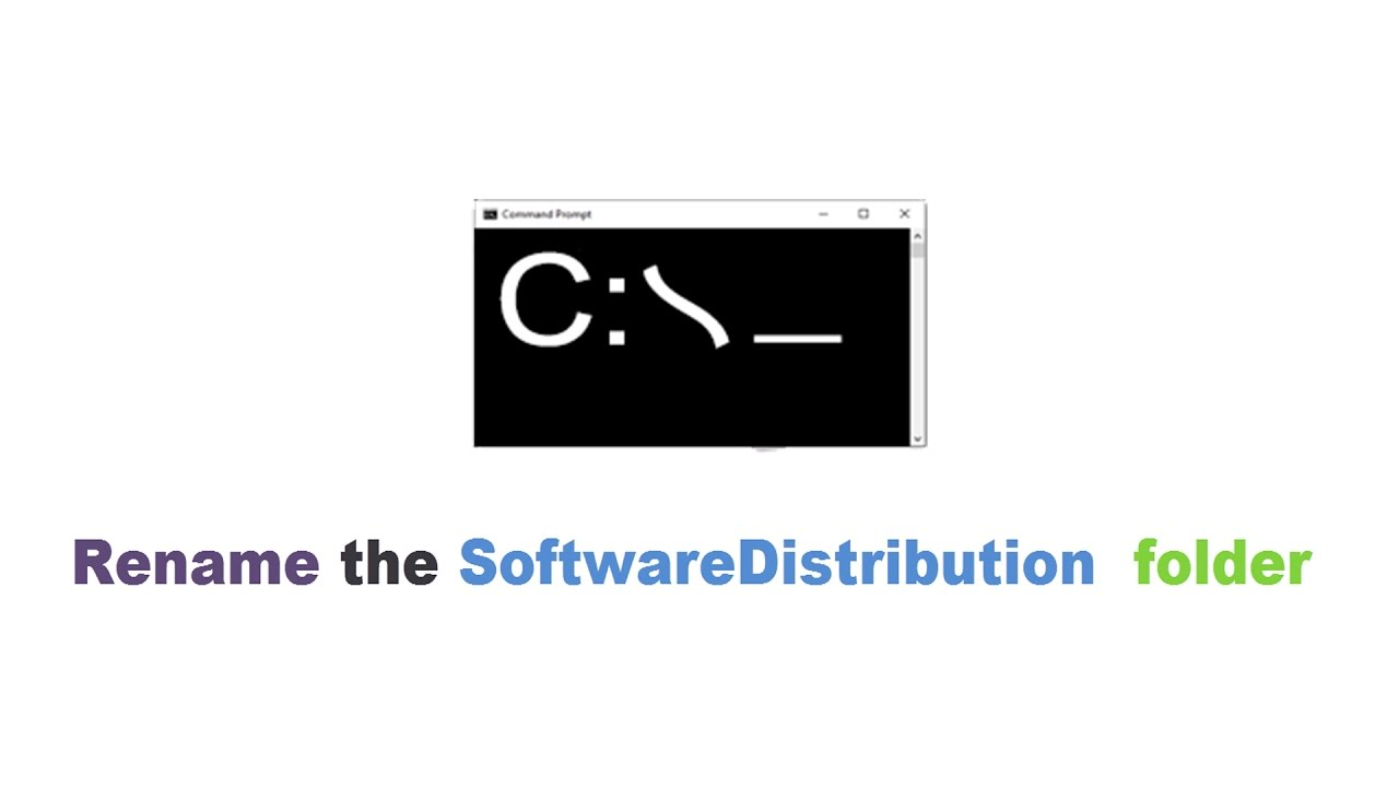 How to Rename the Software Distribution Folder in Windows ...