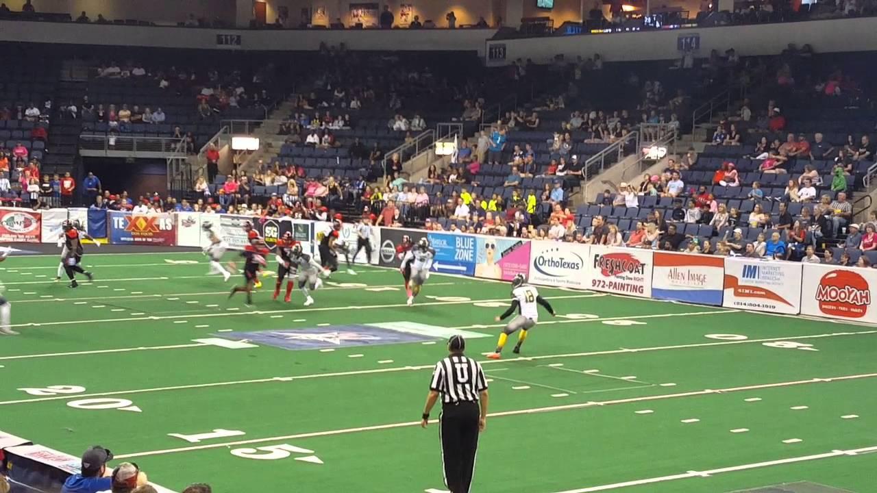 Texas Revolution Indoor Football At The Allen Event Center