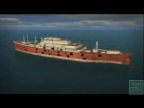 Texas Clipper Artificial Reef - Texas Parks and Wildlife [Official]