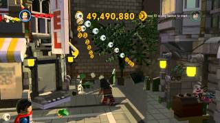 The LEGO Movie Video Game - Wonder Woman free roam