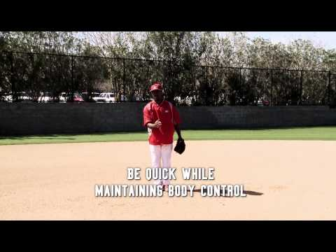 Fielding a Slow Roller with Jimmy Rollins