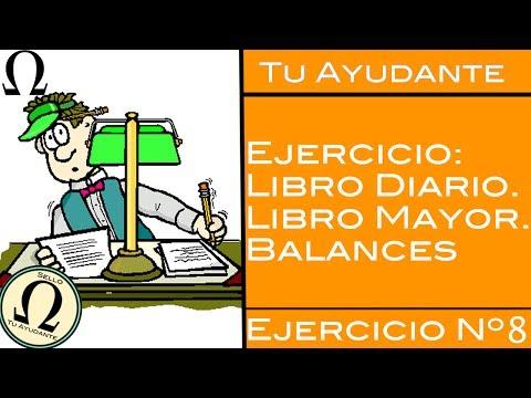 [8] Se compra mercaderia en efectivo, letra y crédito / Ejercicio Libro Diario & Mayor #1
