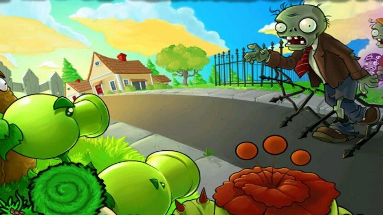 посмотреть растения против зомби картинки