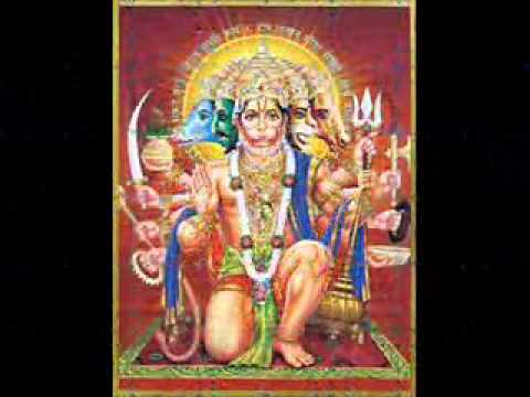 SHREE HANUMAN KAVACH WITH ARATI (COMPLETE) BY HARI OM SARAN ; EDITED BY SUJIT MADHUAL