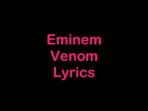 Eminem - Venom [Lyrics]