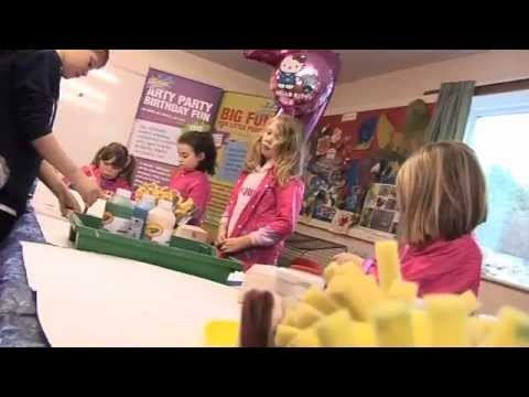 Children's Arty Birthday Parties with The Creation Station