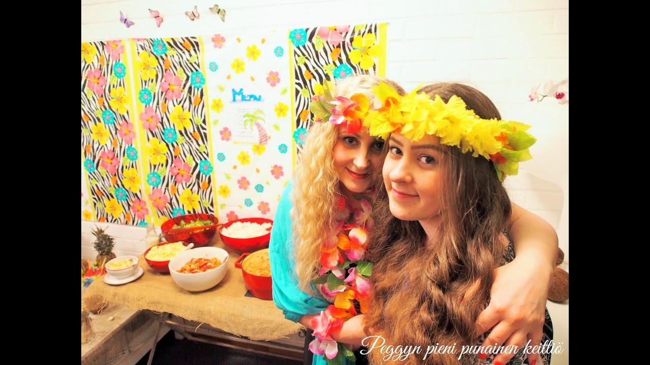 Havaiji juhlan tunnelmia  YouTube