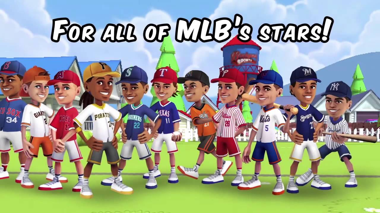 Backyard Sports Power Ups MLB Baseball 2015