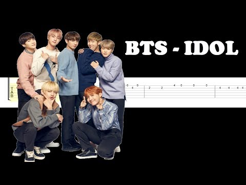 BTS (방탄소년단) 'IDOL'(Easy Guitar Tabs Tutorial)