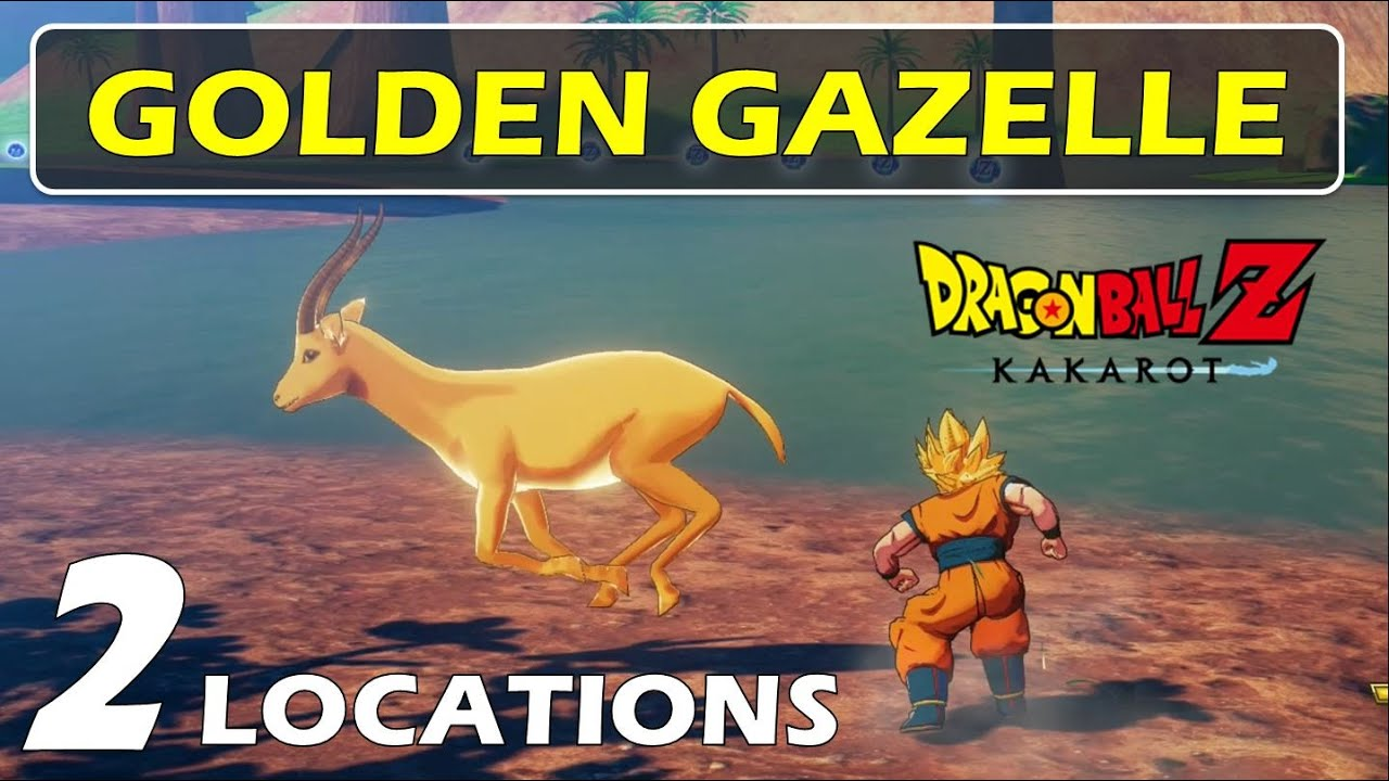 Location of Golden Gazelle Antler | Dragon Ball Z Kakarot (DBZ) - Where to Find Golden Gazelle