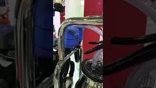 Elektronik Pulsatörlü Süt Ölçerli Krom Makina | Melasty®