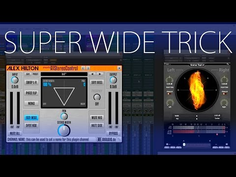 How to safely make WIDE stereo tracks