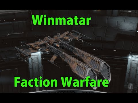 Winmatar Faction Warfare - EVE Online Live Presented in 4k