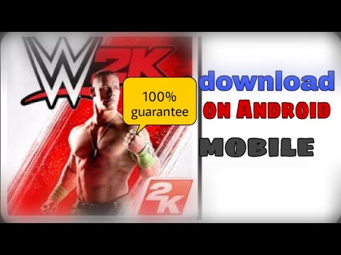 How To Download Wwe 2k Game In Android Easy