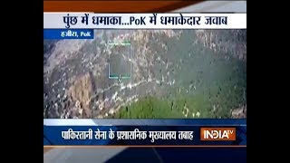 Indian army destroys Pakistan army administrative HQ's along LoC