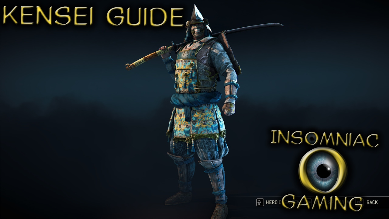 for honor how to cancel attacks kensei