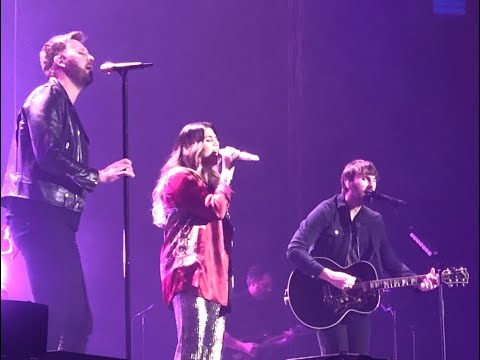 """NEW Lady Antebellum """"What If I Never Get Over You"""" FULL Song In Dublin. Ireland"""