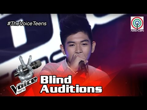 The Voice Teens Philippines Blind Audition: Mikko Estrada - Dahil Sa'Yo