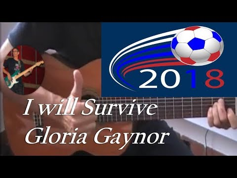 Y will survive -Gloria Gaynor - cover- tuto guitare + partition + partition gratuite