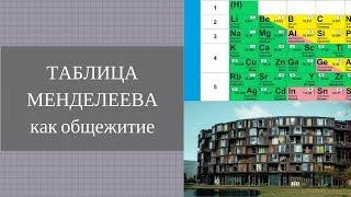 Таблица Менделеева как общежитие