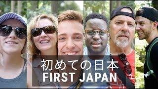カナダ人家族、初めての日本!Family is in Japan!