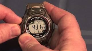 In-depth Review of Casio MTG-900 G-Shock Waveceptor Tough Solar Watch