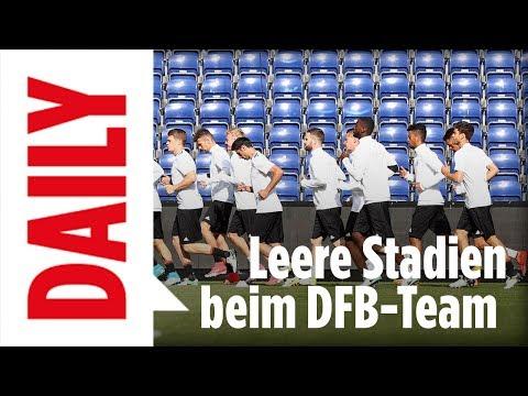 Deutschland vs San Marino / Leeres Stadion, wenig Fans! - BILD Daily live 09.06.17